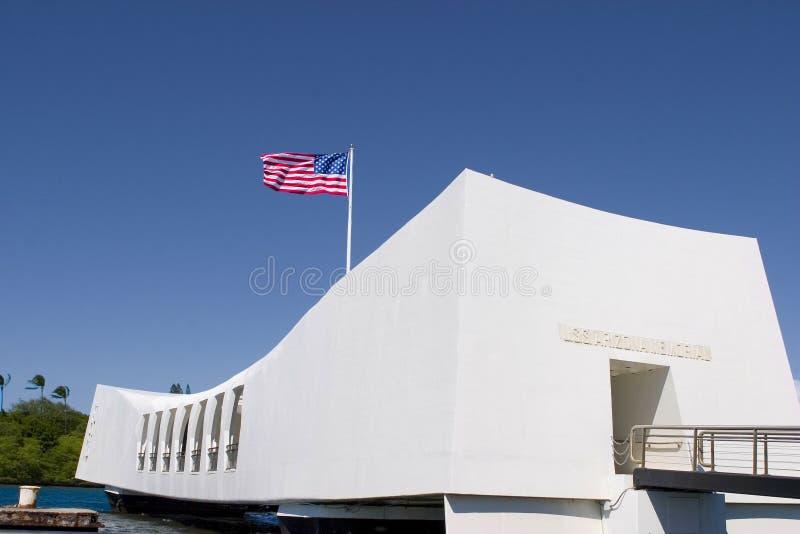 Memoriale di Uss Arizona fotografie stock