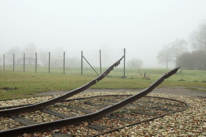 Memoriale di Westerbork immagine stock libera da diritti