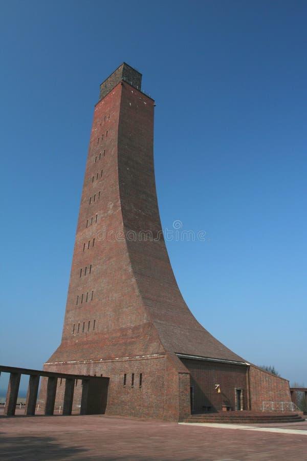Memoriale navale in Laboe fotografia stock