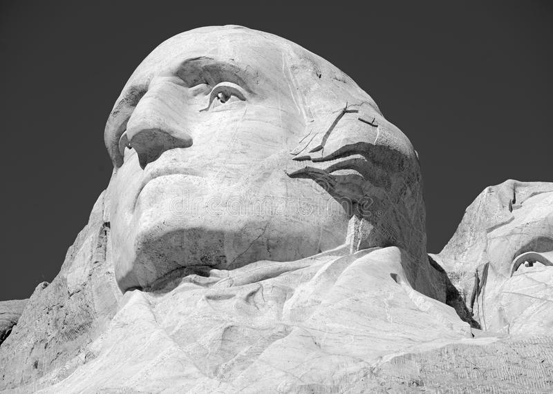 Memoriale nazionale del monte Rushmore, Black Hills, Sud Dakota, U.S.A. immagini stock