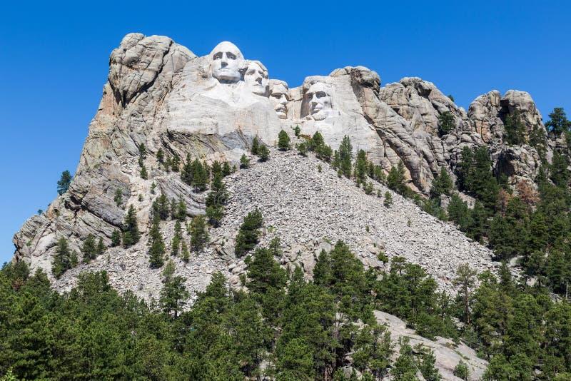 Memoriale nazionale del monte Rushmore, Sud Dakota, U.S.A. fotografie stock