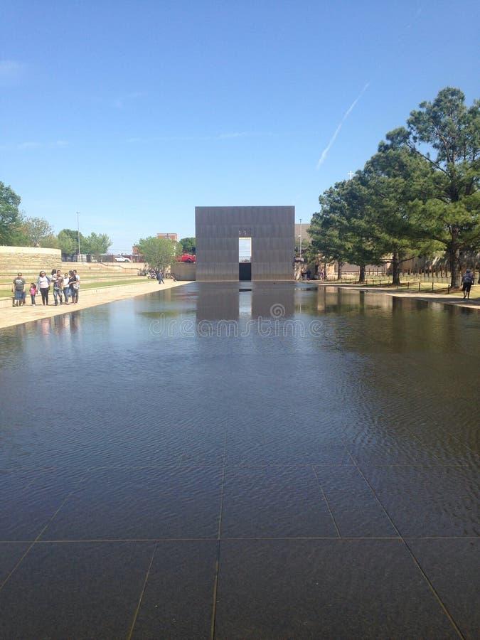 Memoriale nazionale di Città di Oklahoma immagini stock