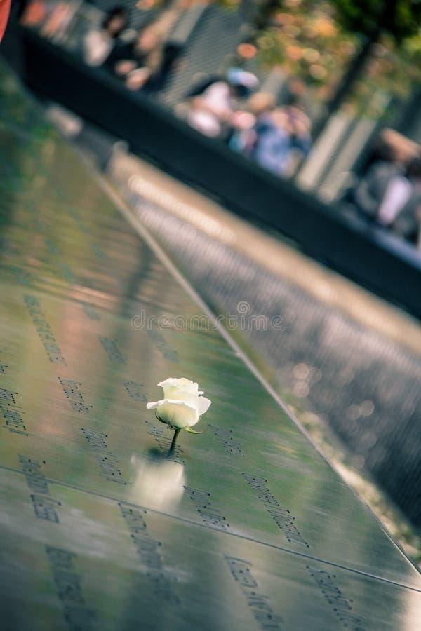 9 - memoriale 11 a New York immagini stock