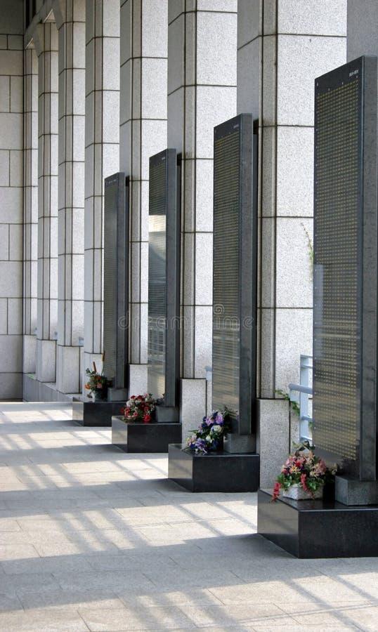Memoriali immagini stock