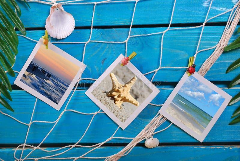 Memorias de las vacaciones de verano imagen de archivo libre de regalías