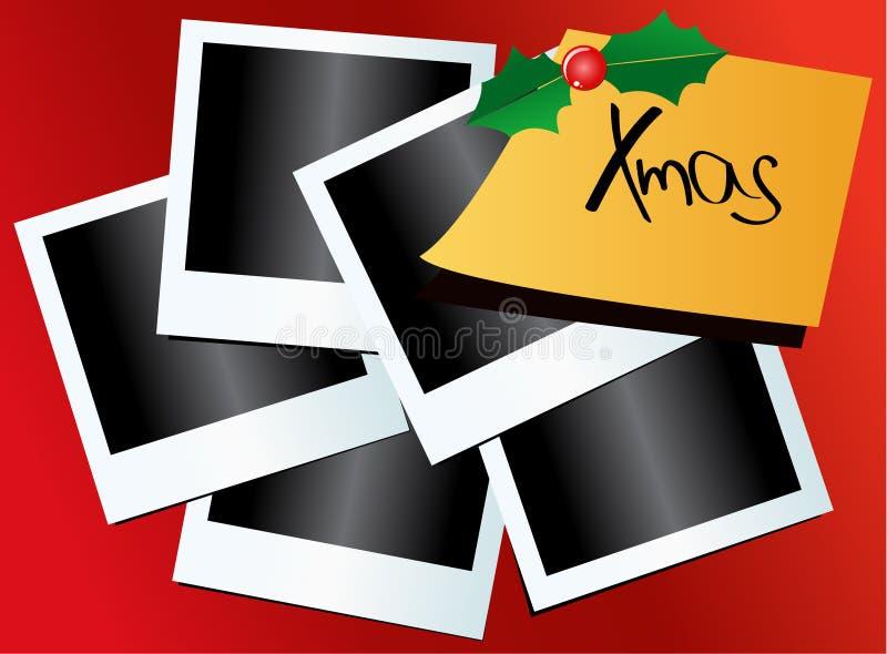 Memorias de su Navidad ilustración del vector