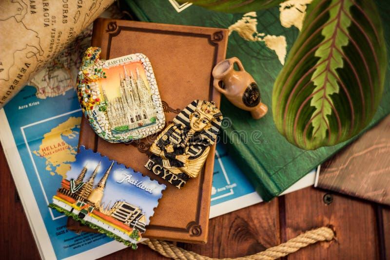Memorias de viajes foto de archivo libre de regalías