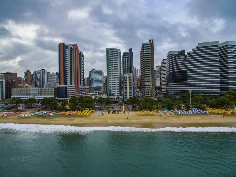 Memorias del viaje de la ciudad de Fortaleza, estado de Ceara el Brasil Suramérica Tema del recorrido Lugares a visitar y imágenes de archivo libres de regalías