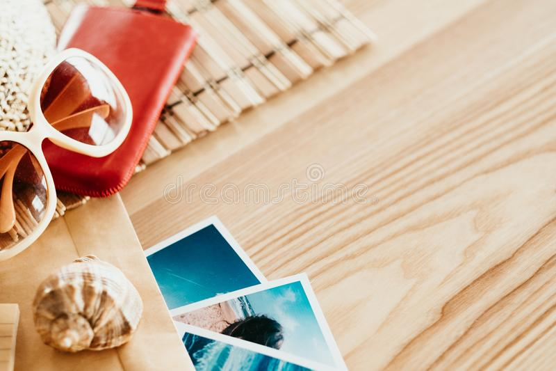 Memorie di feste di turismo di viaggio di vacanze estive fotografia stock libera da diritti