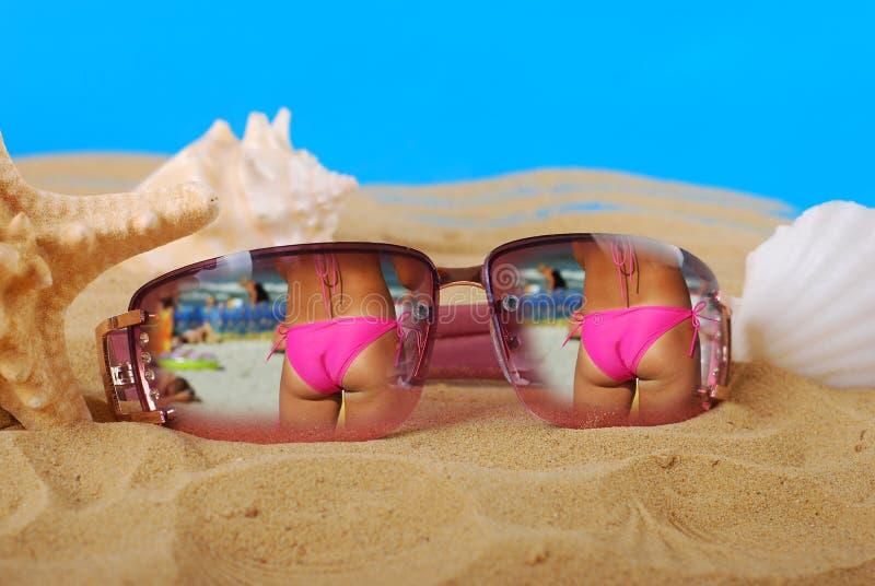Memorie di vacanze estive fotografie stock
