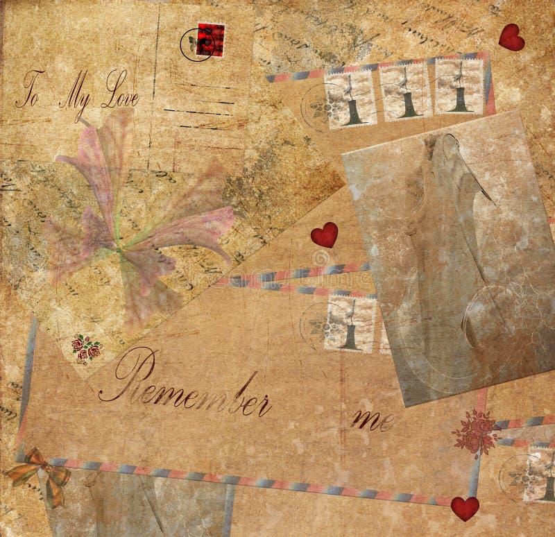 Download Memories stock illustration. Illustration of hearts, vintage - 19078133