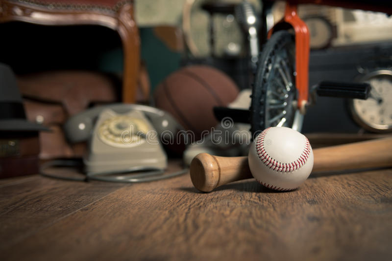 Memories from the attic stock photography