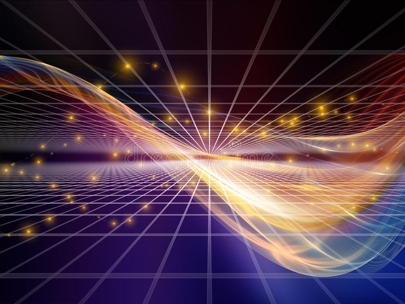 Download Memories of Fractal Realms stock photo. Image of movement - 34204334