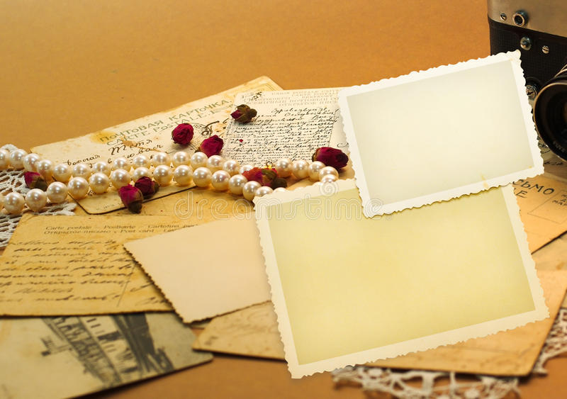 Download Memories and nostalgia stock image. Image of frame, lace - 18346173