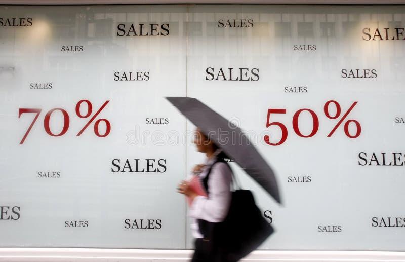 Memorizzi le vendite di pubblicità   immagine stock