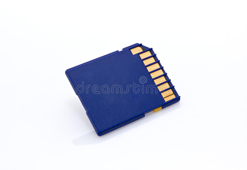 Download Memory card stock image. Image of technology, card, white - 23648813