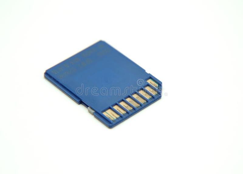 Memory card royalty free stock photo