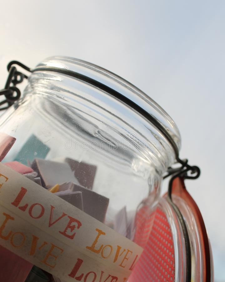Memory Jar 😊 royalty free stock image