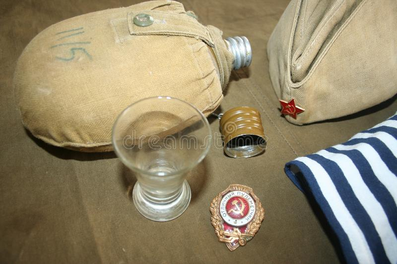 Memory of the marine corps and native Pacific fleet stock images