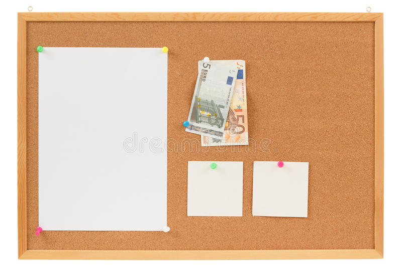 Download Memory Note Paper With Euro Moneys Concept Stock Photo - Image: 28688680