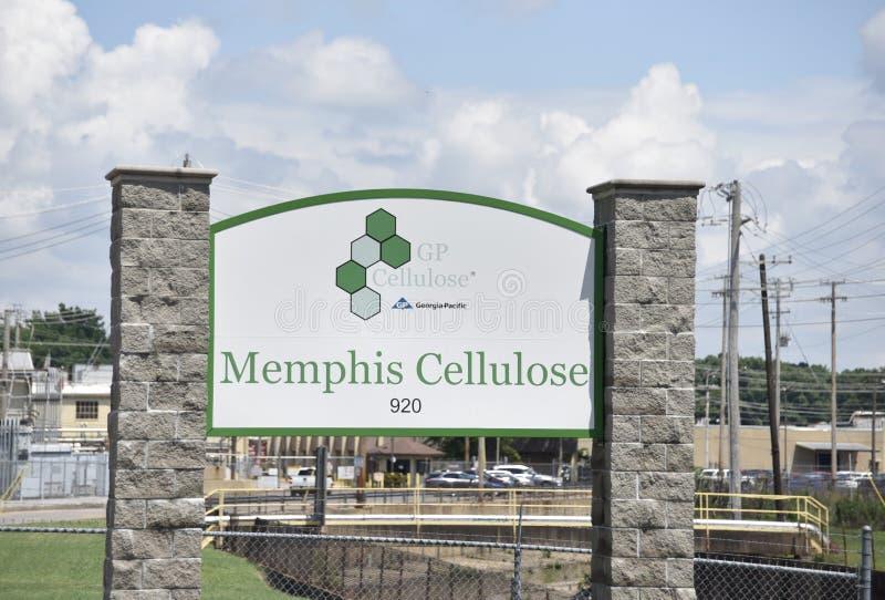 Memphis Błonnik Firma, Memphis, TN obraz royalty free