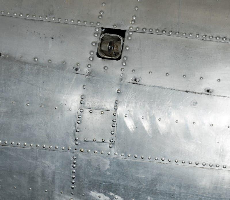 Memphis Belle Bullet Hole Repair Patch royalty-vrije stock foto