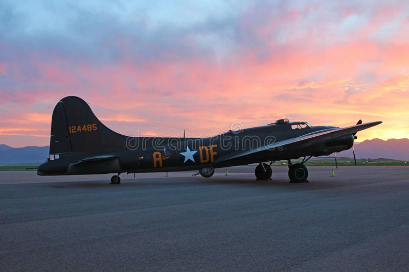 Download The Memphis Belle editorial stock image. Image of airshow - 31256554