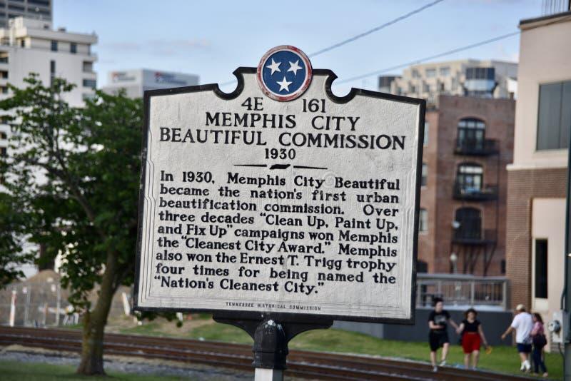 Memphis City Beautiful Commission, Memphis, TN images stock