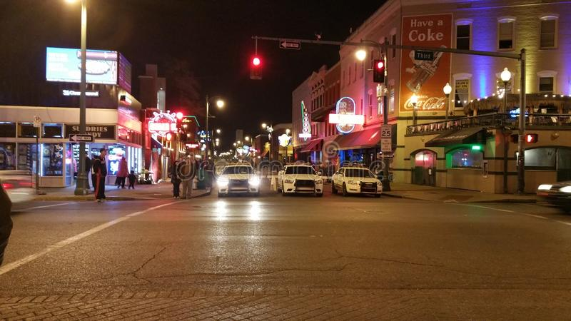 Memphis City Police fotografie stock libere da diritti