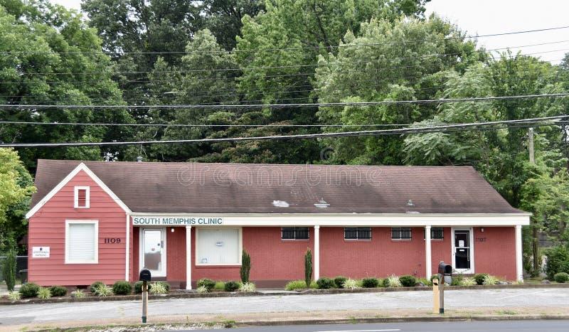 Memphis Clinic del sur, Memphis, TN imagen de archivo