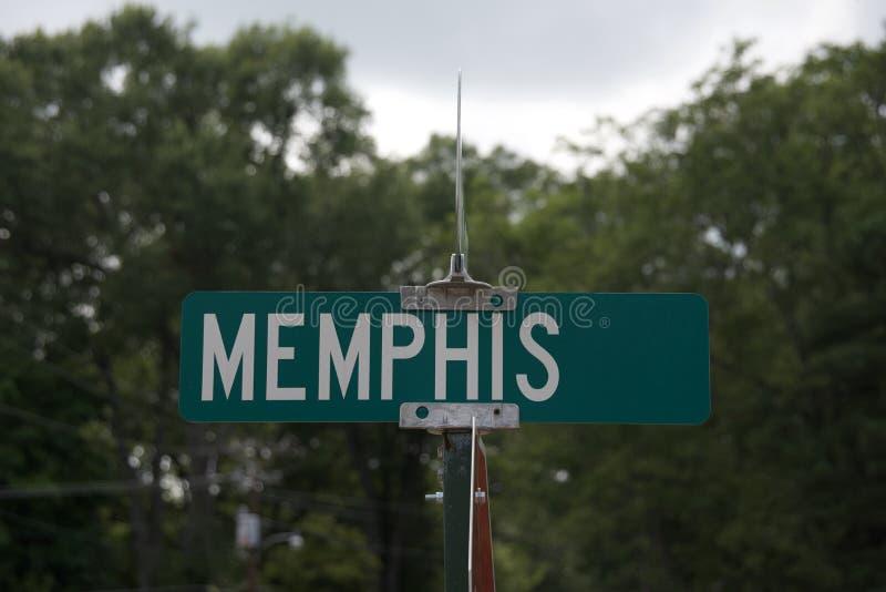 Memphis dell'Egitto e del Tennessee immagine stock libera da diritti