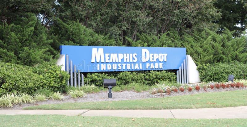 Memphis Depot Industrial Park stockfotografie