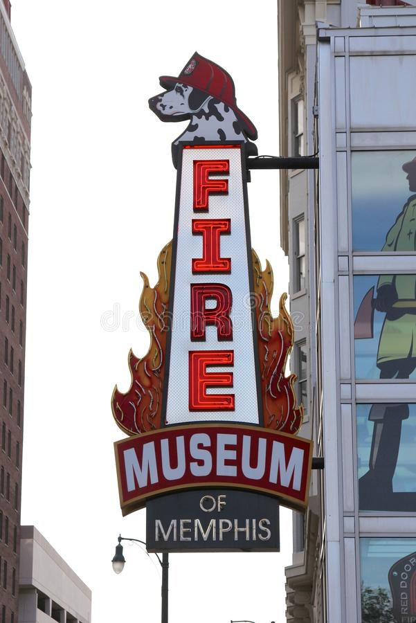 Memphis Firefighter Museum photos stock