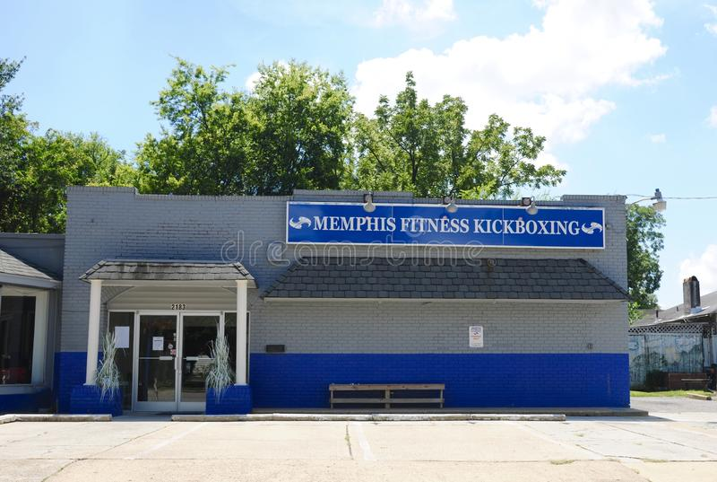 Memphis Fitness Kickboxing TN arkivfoton