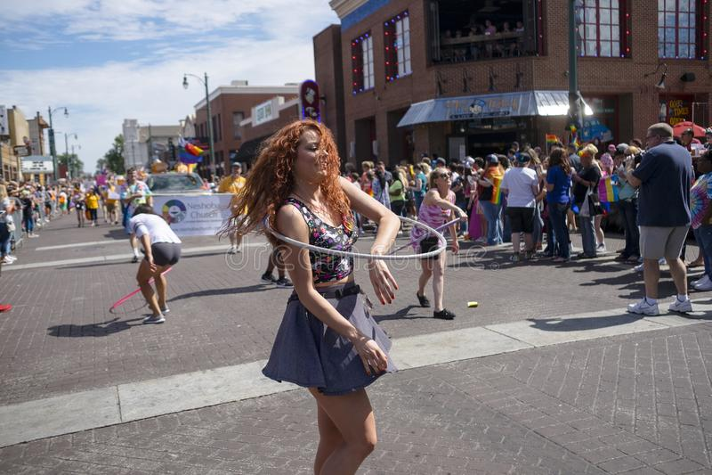 Memphis Gay Pride Parade 2017 foto de stock