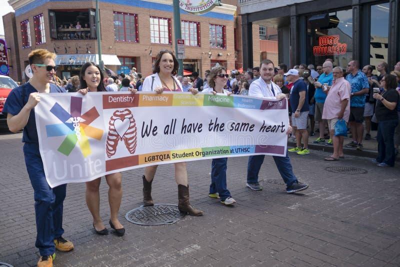 Memphis Gay Pride Parade 2017 imagens de stock