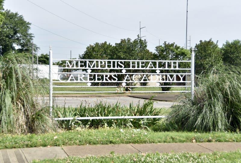 Memphis Health Careers Academy, Memphis, TN foto de stock