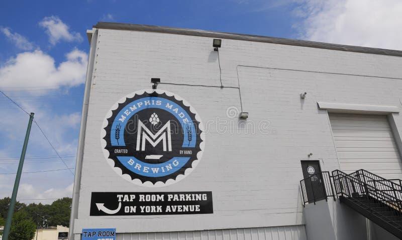 Memphis Made Brewing fotografía de archivo