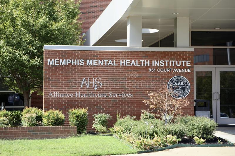 Memphis Mental Health Institute photo libre de droits