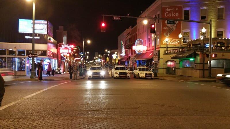 Memphis miasta policja zdjęcia royalty free