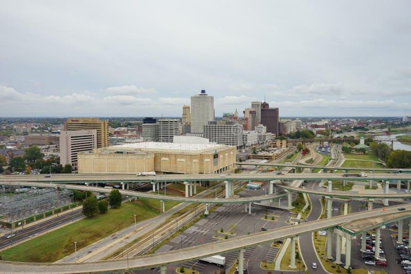 Memphis miasto zdjęcia royalty free