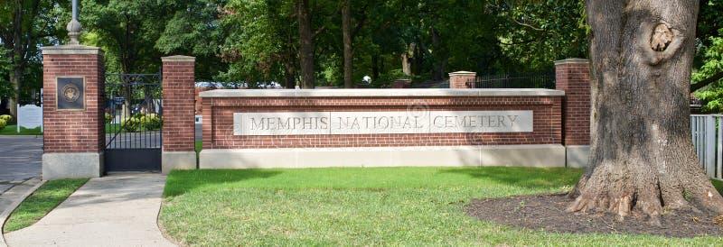 Memphis National Cemetery photo libre de droits