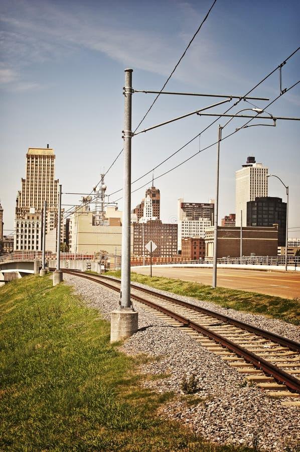 Memphis poręczem fotografia royalty free