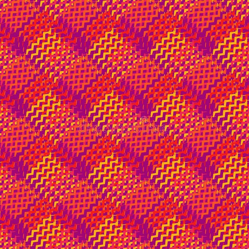 Memphis seamless pattern. Brushwork. Textile rapport stock photography