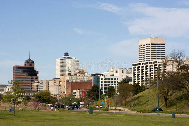 Memphis Skyline stock images