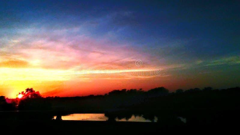 Memphis Skys obrazy royalty free