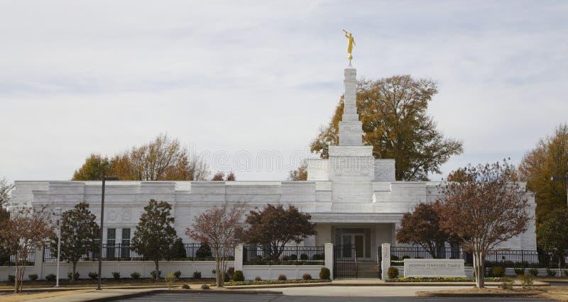 Memphis Temple van Laatstgenoemde Dagheiligen royalty-vrije stock fotografie
