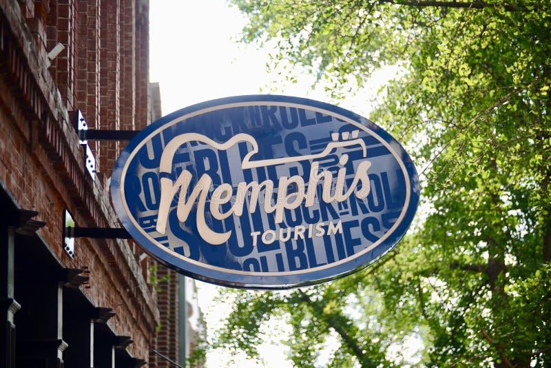 Memphis Tennessee Department di turismo immagini stock
