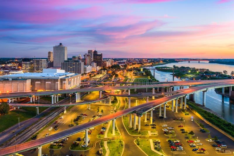 Memphis Tennessee Etats-Unis image libre de droits