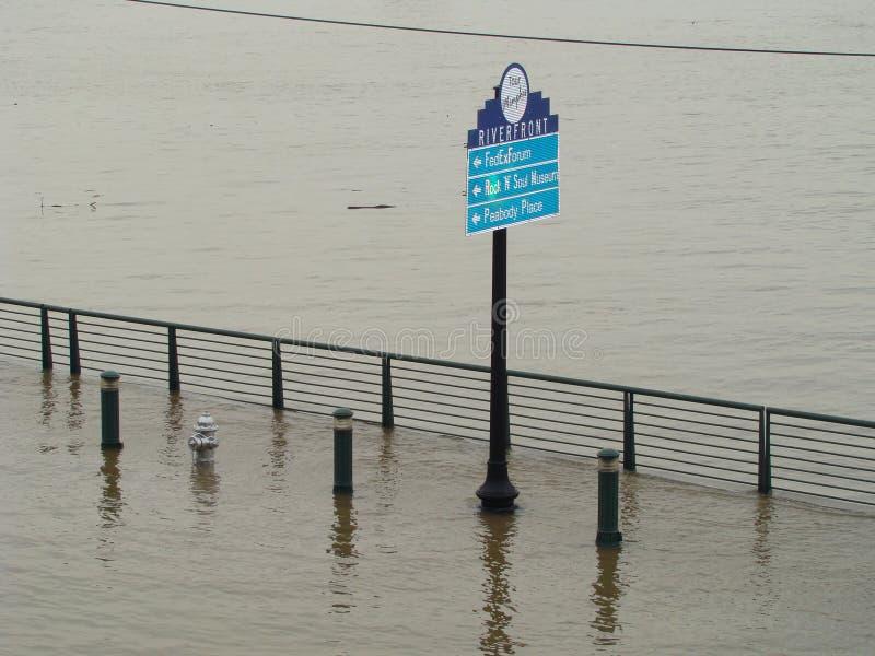 Memphis, Tennessee Flood image stock
